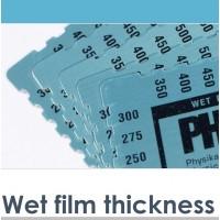 Spessimetri per film umidi